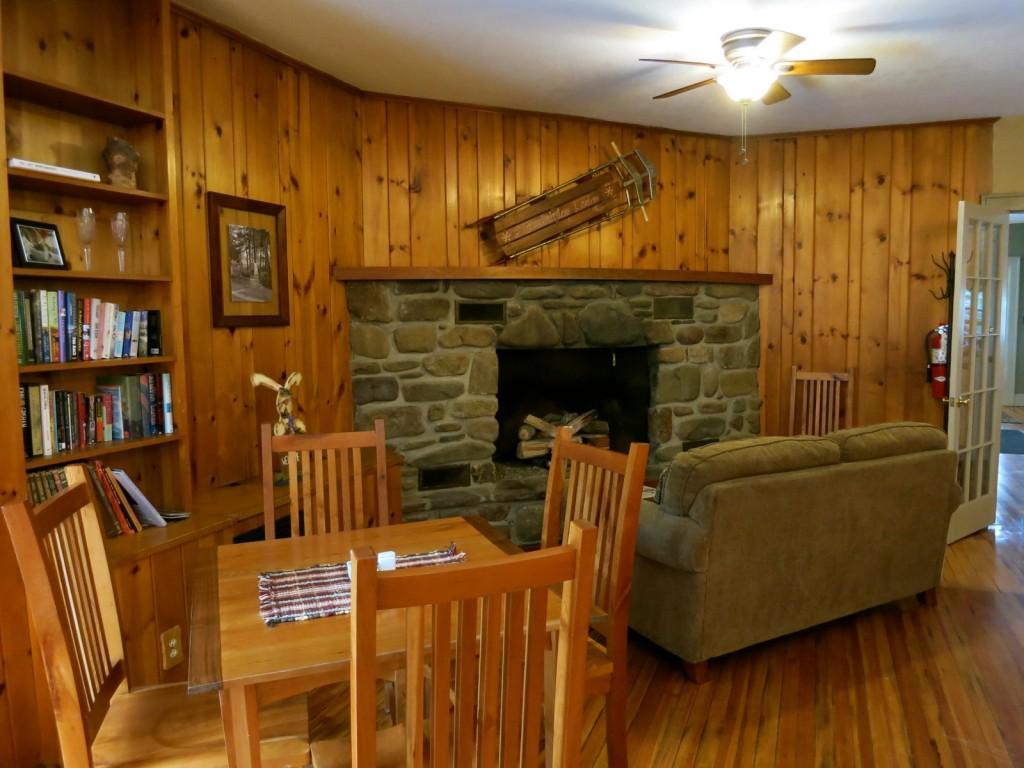Main Room, Mountaintop Lodge at Lake Naomi, Poconos PA