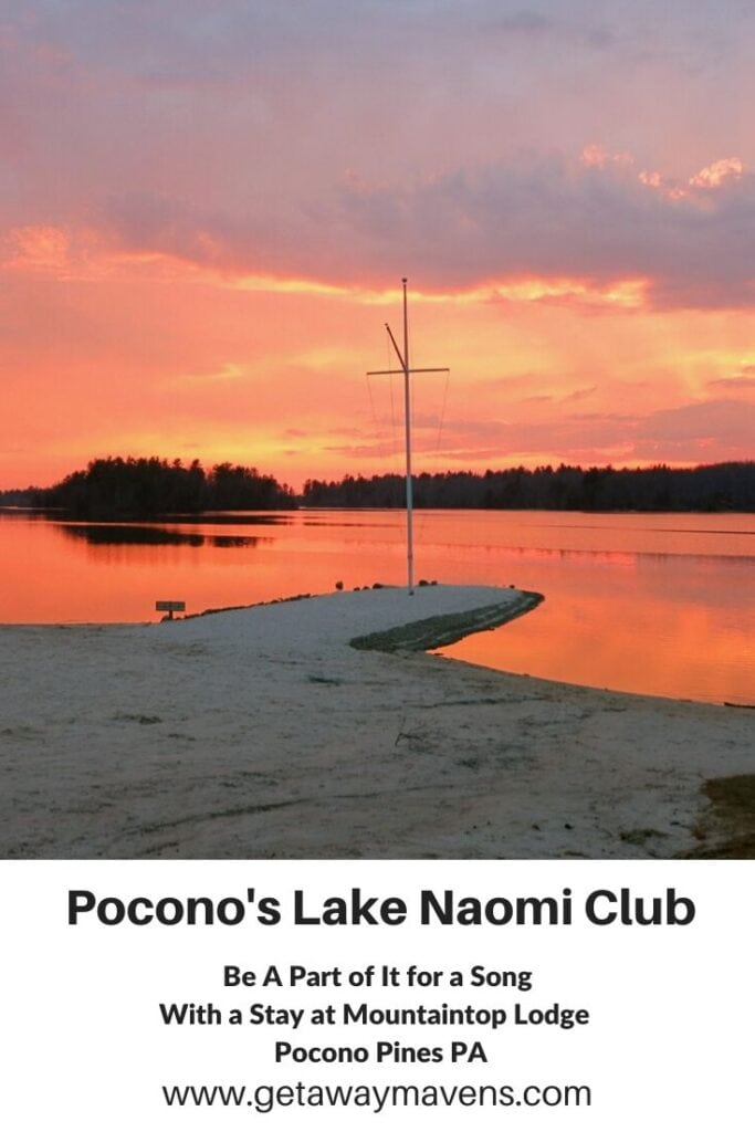 Poconos Lake Naomi Pin