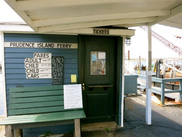 "Prudence Island Ferry ""Terminal"" Bristol RI"