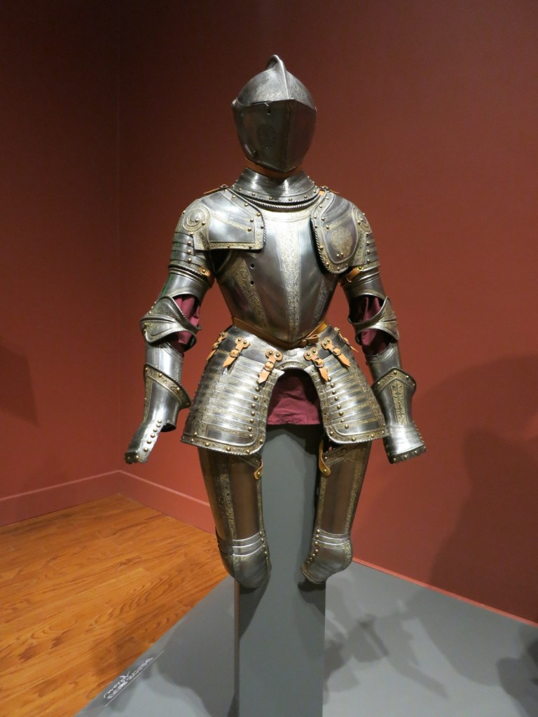 Armor worn by Shakespeare patron, William Herbert, the 3rd Earl of Pembroke, Worcester Art Museum, Worcester MA