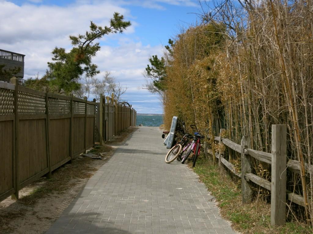 Bikes on Fire Island NY