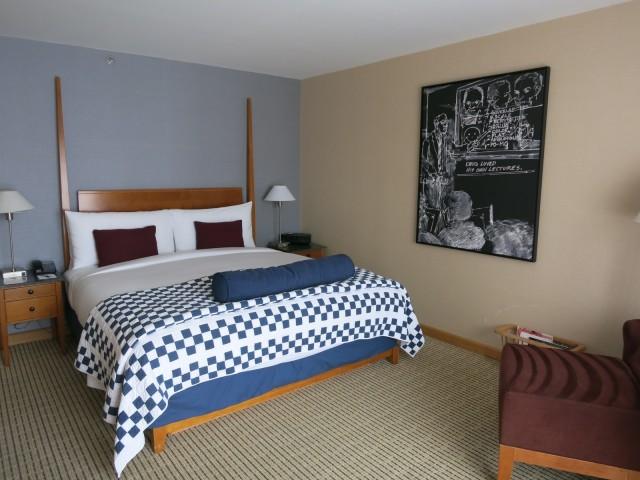 Room at Charles Hotel, Cambridge MA
