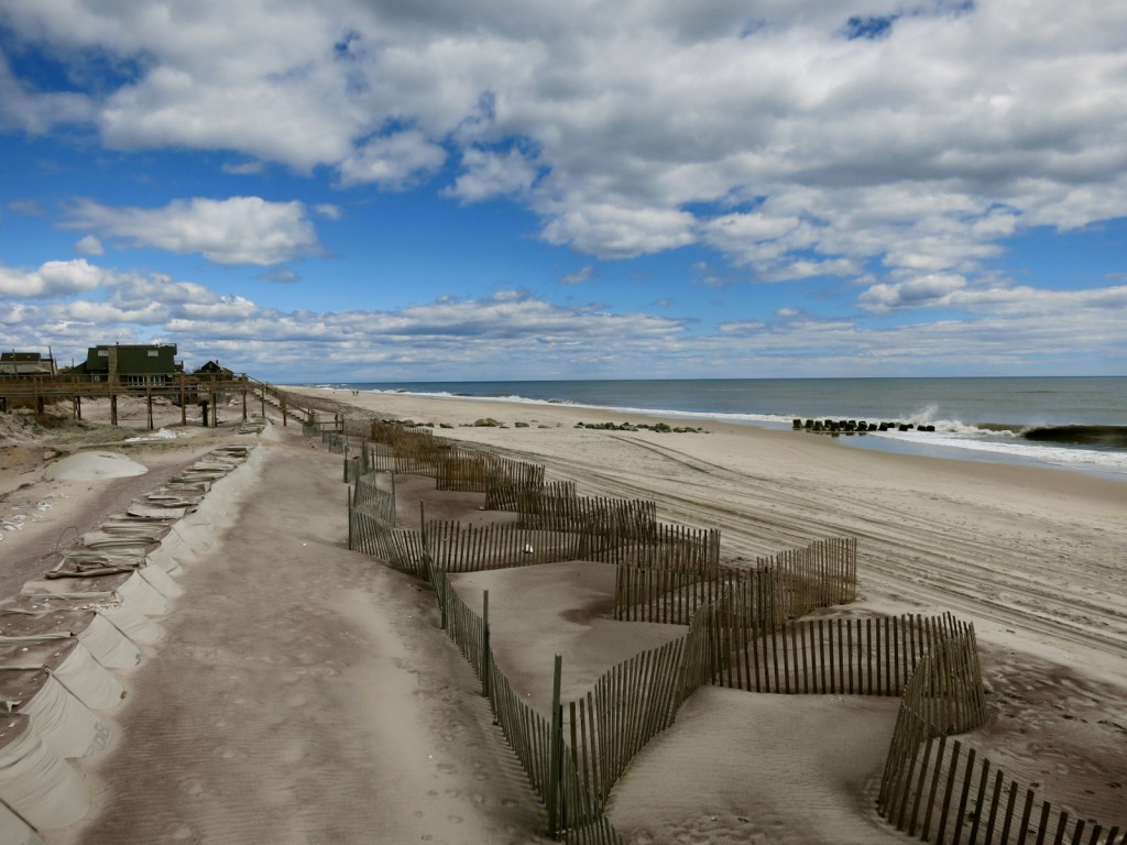 Fire Island Beach off season