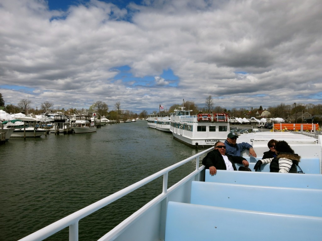 Fire Island Ferry to Seaview from Bay Shore NY