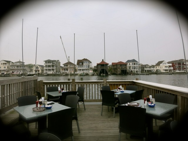 View from deck of Gilchrist Restaurant, Atlantic City, NJ