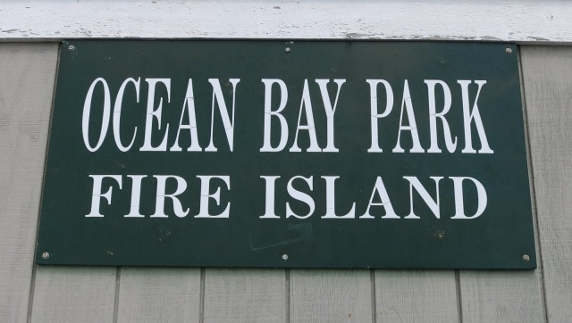 Ocean Bay Park Ferry Dock, Fire Island NY