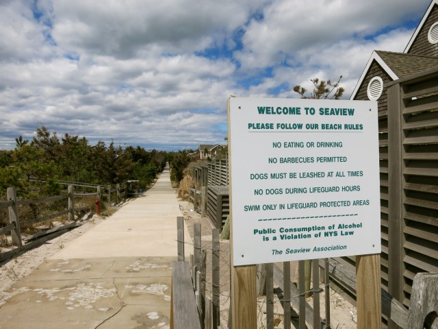 Community of Seaview rules, Fire Island NY