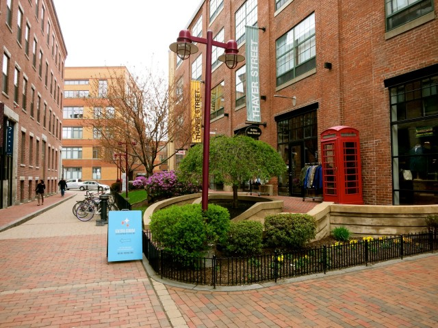 Thayer St. Art Galleries in the South End Boston MA