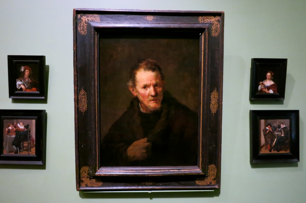 Rembrandt painting at Worcester Art Museum in Worcester MA