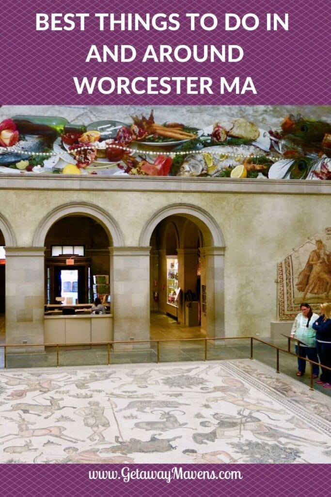 Worcester MA Pin