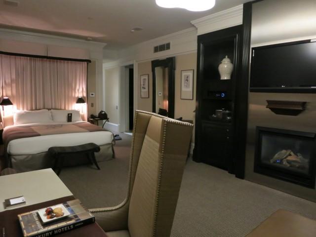 Room at XV Beacon, Boston MA