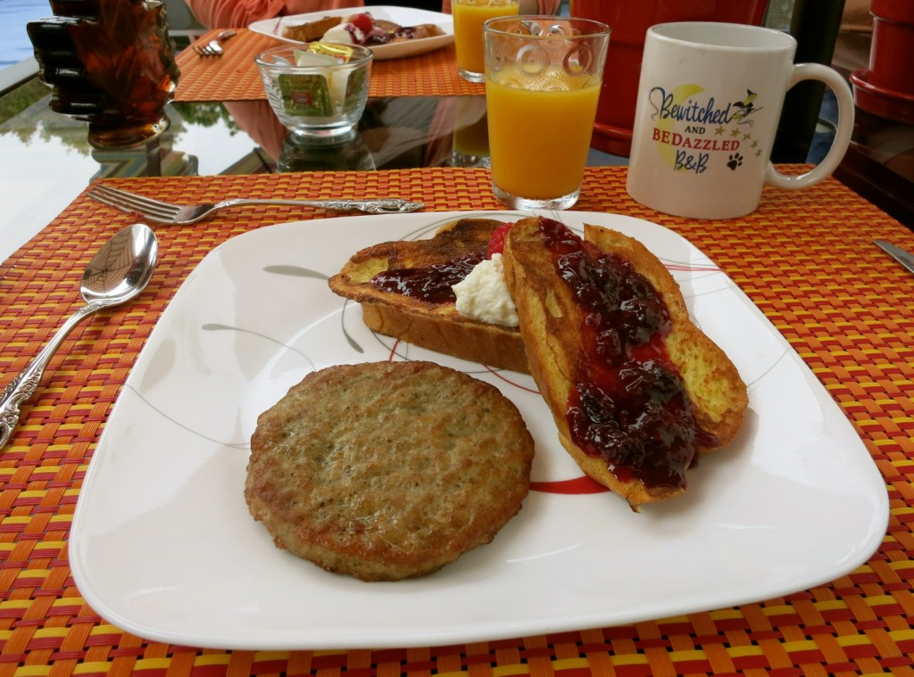 Breakfast, Bewitched and Bedazzled B&B, Rehoboth Beach DE