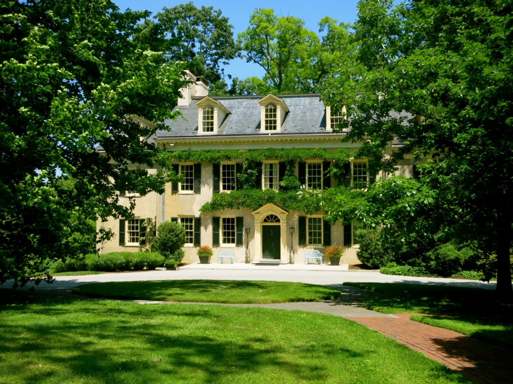 Eleutherian Mills, Du Pont ancestral home in USA, Wilmington DE
