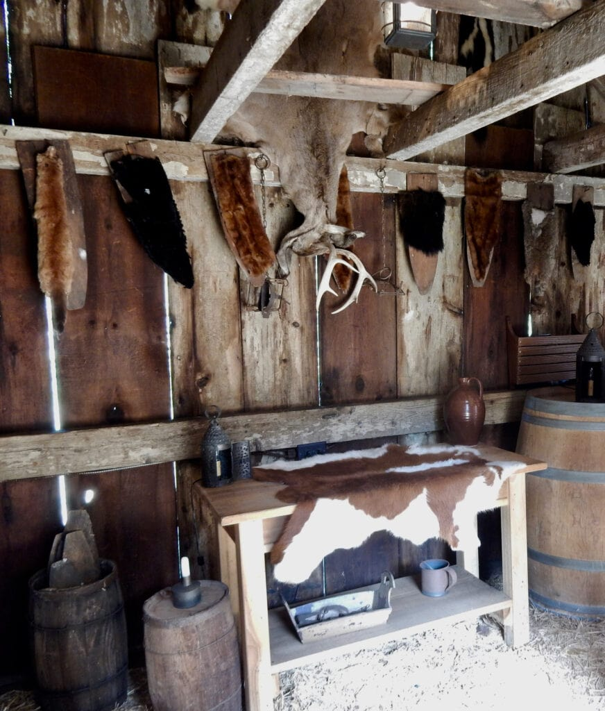 Muscrat Skinning Shed Historic Houses of Odessa DE