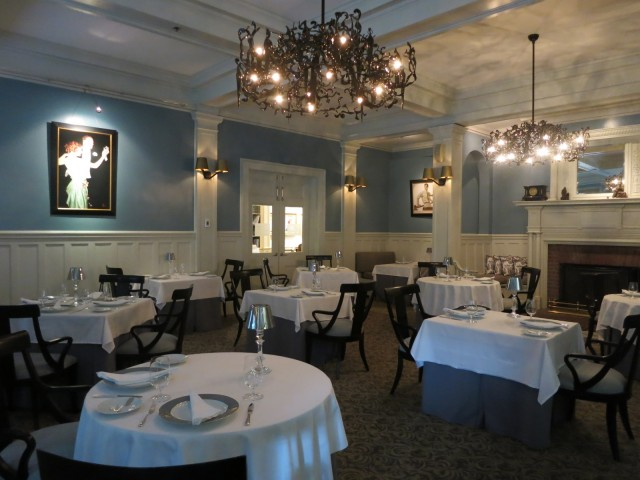 Muse Restaurant at Vanderbilt Grace Hotel, Newport RI