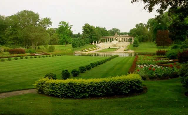 Nemours Gardens facing house, DE