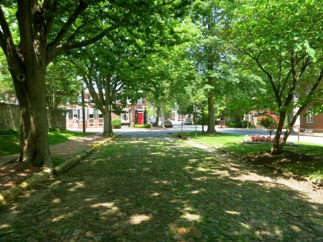 Cobblestone Streets of New Castle Historic District, DE
