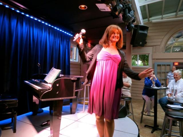 Pam Stanley performs at Cashetta's Cabaret, Rehoboth Beach DE