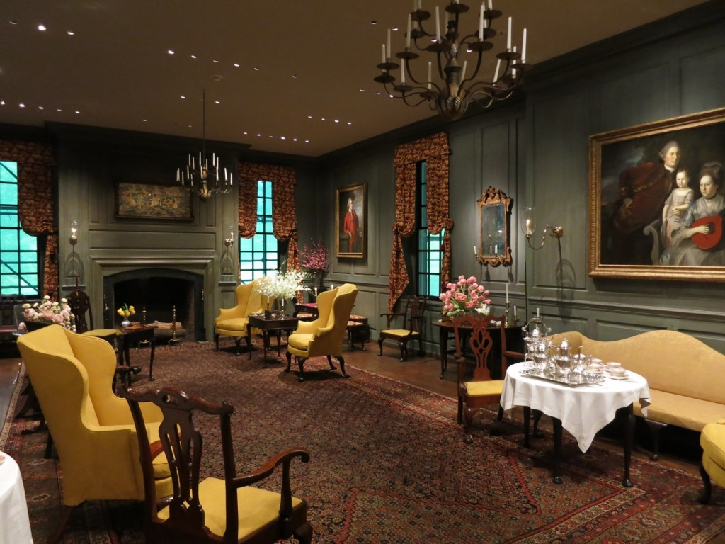 Chinese Parlor at Winterthur Museum