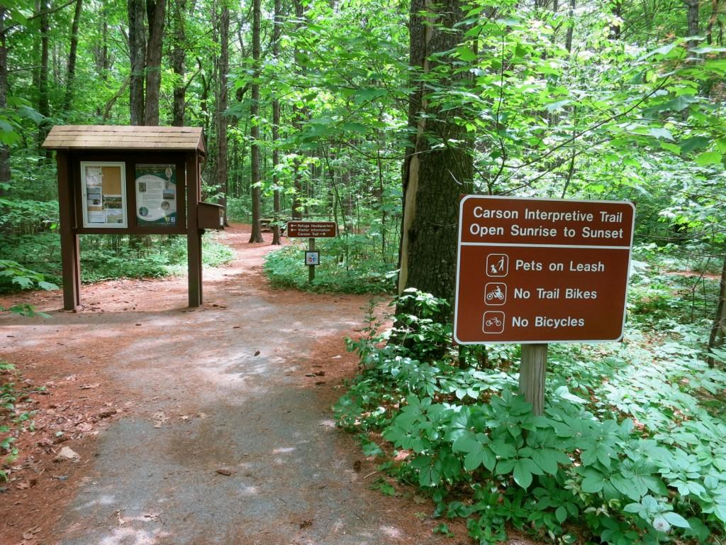 Carson Interpretive Trail at Rachel Carson Wildlife Refuge, Kennebunk, ME