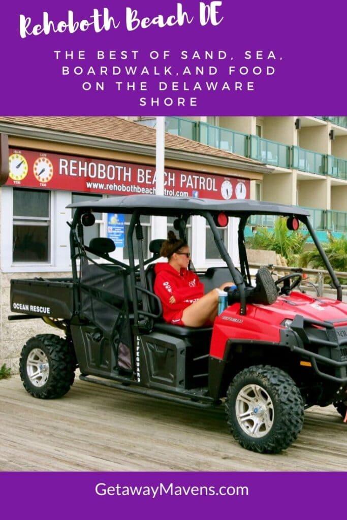 Rehoboth Beach DE Pin