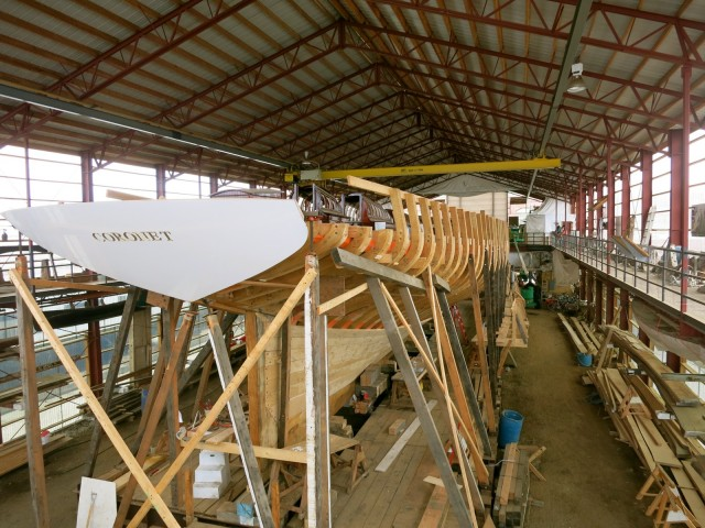 Restoring the Gilded Age yacht, The Coronet, at the International Yacht Restoration School in Newport RI