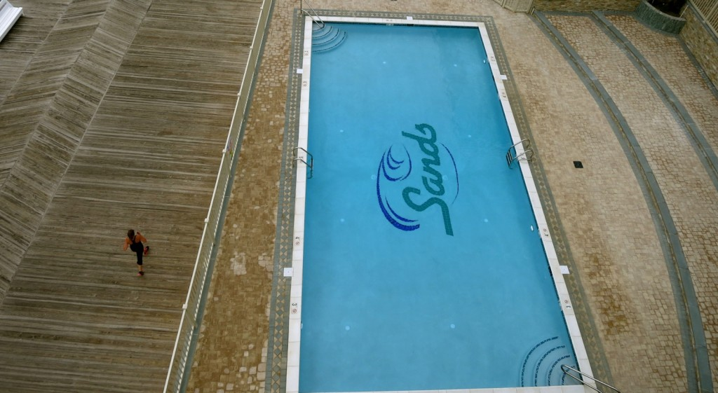 Oceanfront Salt Water Pool at Sands Hotel, Rehoboth Beach, DE