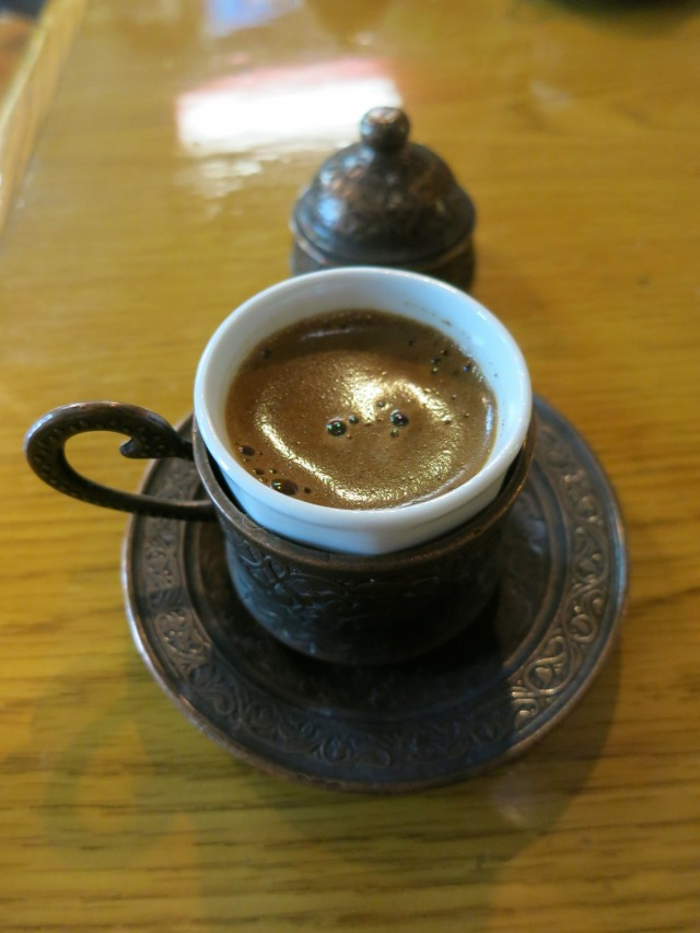 Authentic Turkish Coffee, Semra's Mediterranean Grill, Rehoboth Beach, DE