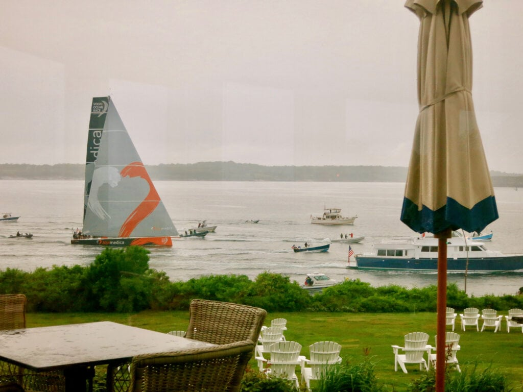Volvo Ocean Race from Castle Hill Inn Newport RI