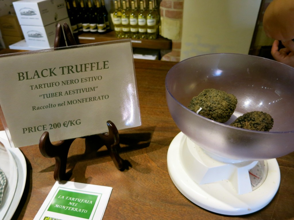 Black Truffle For Cooking Class at Castello Di Razzano