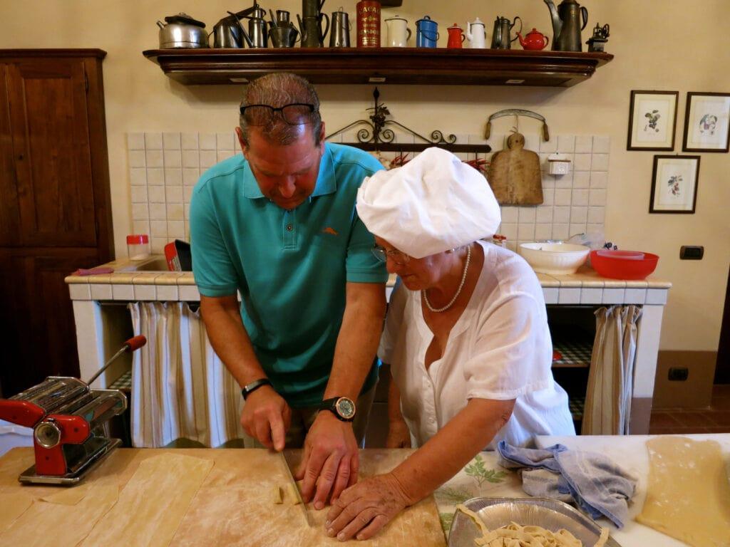 Castello Di Razzano Cooking Class Piedmont Italy