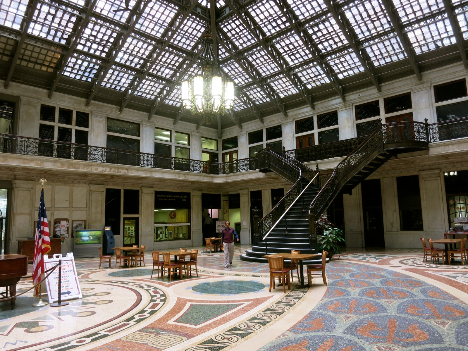 Ellicott Square Building Interior, Buffalo NY
