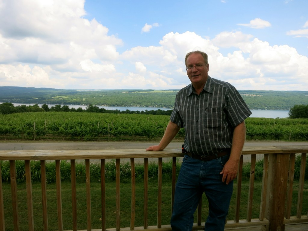 Fred Frank, third generation owner of Dr. Konstantin Frank Winery