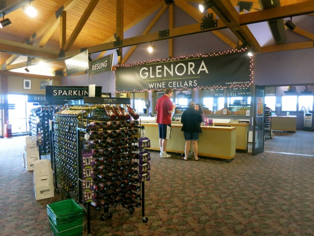 Glenora Wine Cellars, Seneca Lake NY