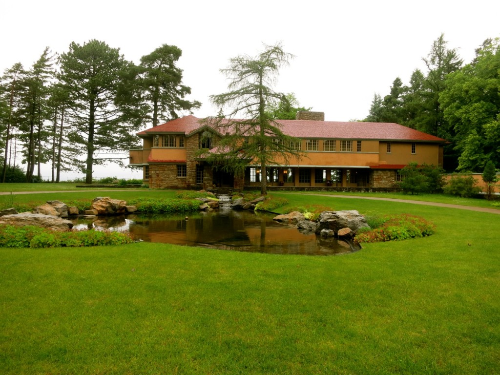 Graycliff Estate - A Frank Lloyd Wright house in Buffalo NY