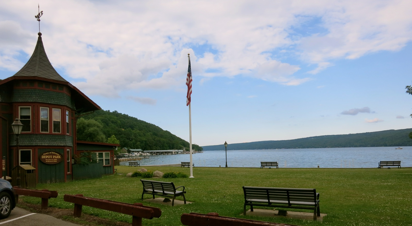 Keuka Lake Ny A Small Finger Lake With Big History