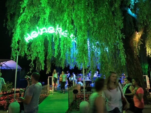 Heineken Beer Garden, Montreux Jazz Festival