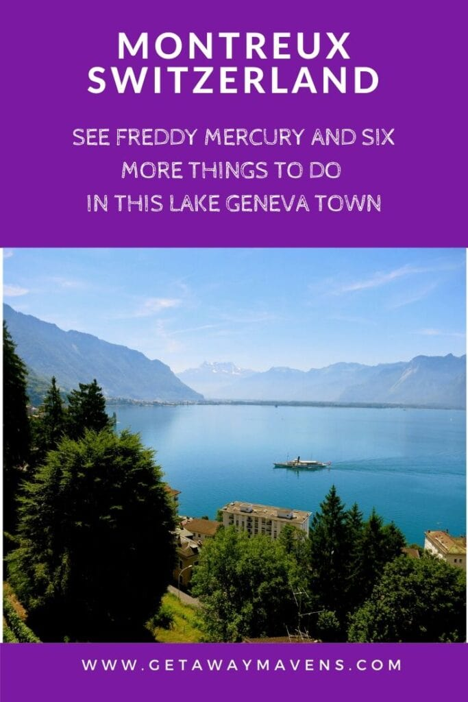 Montreux Switzerland Pin