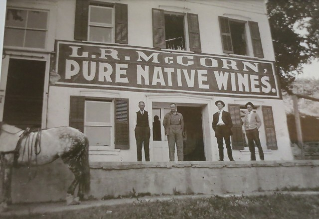 Native wines flourished around Keuka Lake and the Finger Lakes in general, prior to Prohibition