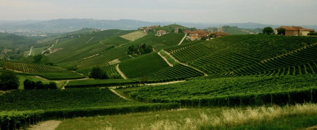 Piedmont Italy Panorama