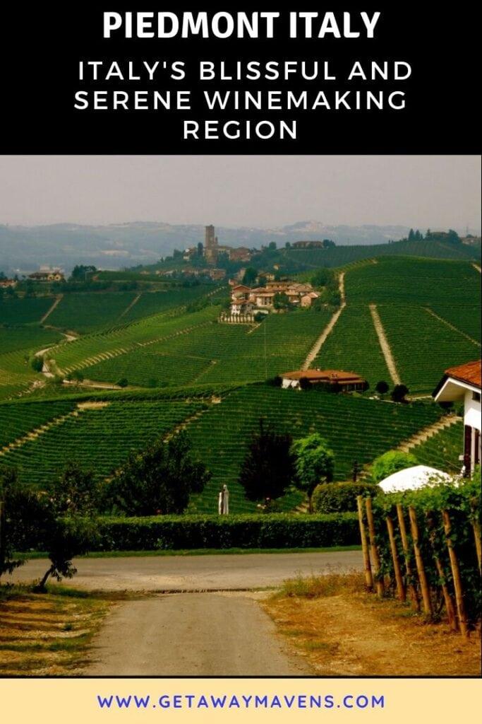 Piedmont Italy Pin
