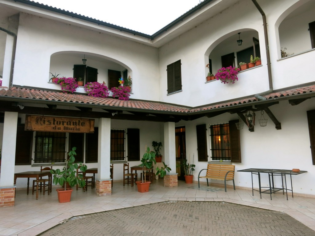 Restaurant Da Maria, Piedmont Italy