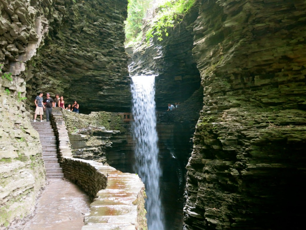 Waterfall pictures at Watkins Glen State Park