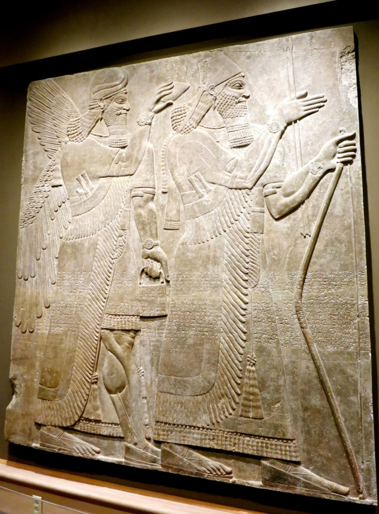 Assyrian Relief, Hood Museum of Art, Dartmouth College, Hanover NH