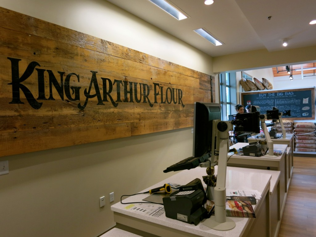 Oldest Flour company in America, King Arthur Flour in VT