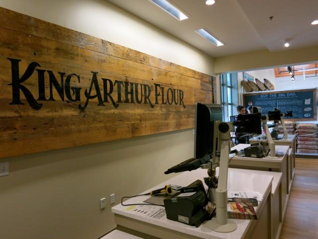 Oldest Flour company in America, King Arthur Flour in VT
