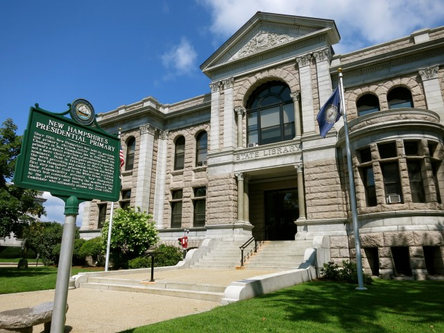 New Hampshire State Library, Concord NH