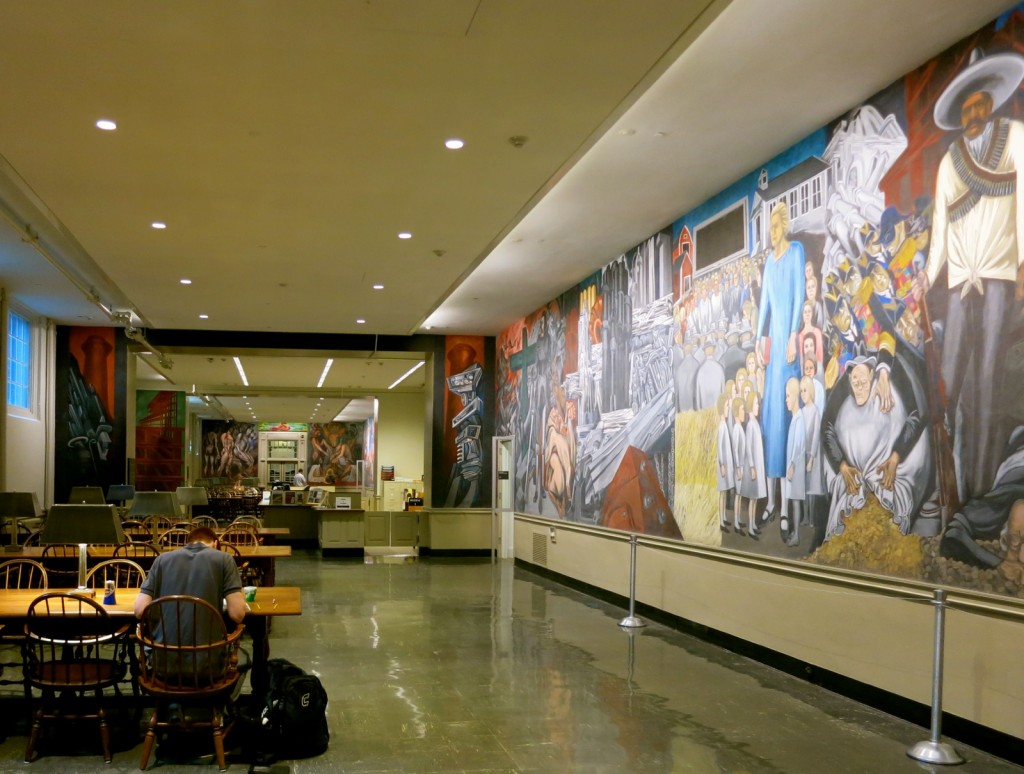 Orozco Murals, Baker Library, Dartmouth College, Hanover NH