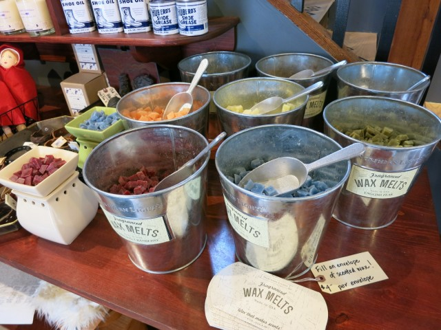 """Wax Melts"" at Pickwick's @ Strawbery Banke, Portsmouth NH"