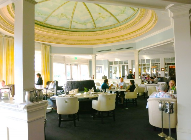 Salt Kitchen with Original Hand-Painted Dome Ceiling, Wentworth By the Sea, New Castle NH